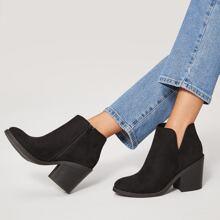 Schwarz Elegant Stiefel