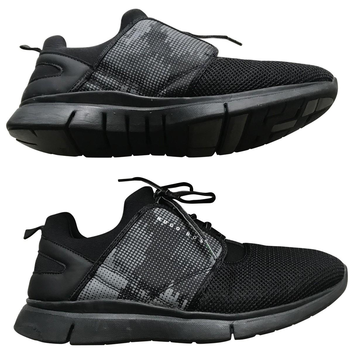 Boss \N Sneakers in  Schwarz Polyester