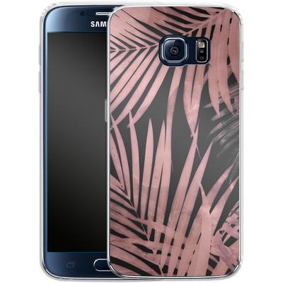 Samsung Galaxy S6 Silikon Handyhuelle - Delicate Jungle Art von Emanuela Carratoni