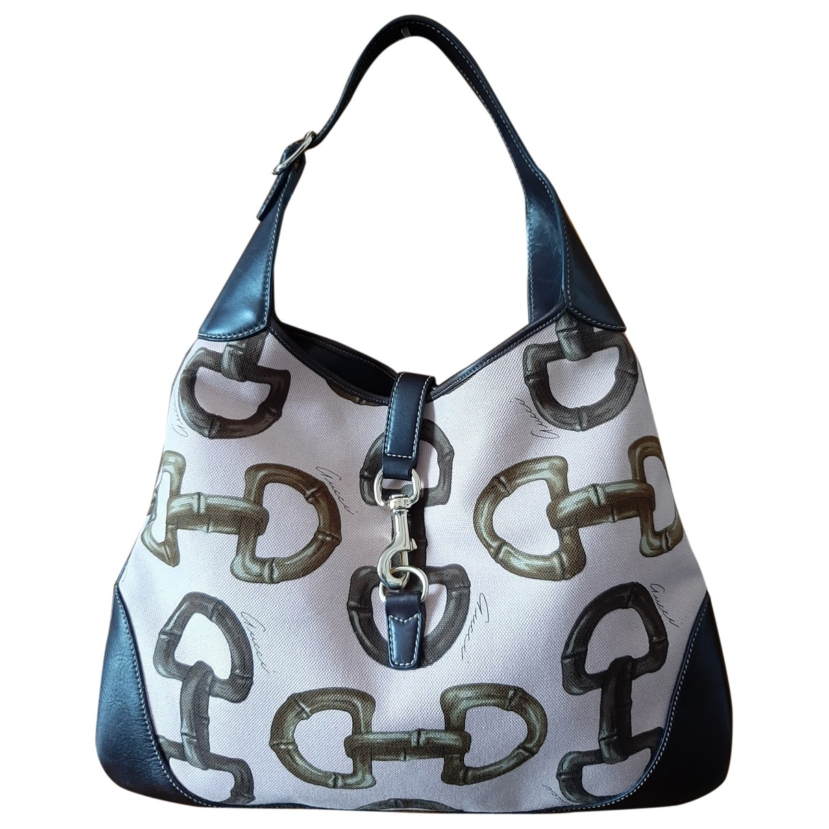 Gucci Jackie Vintage  Pink Cloth handbag for Women \N