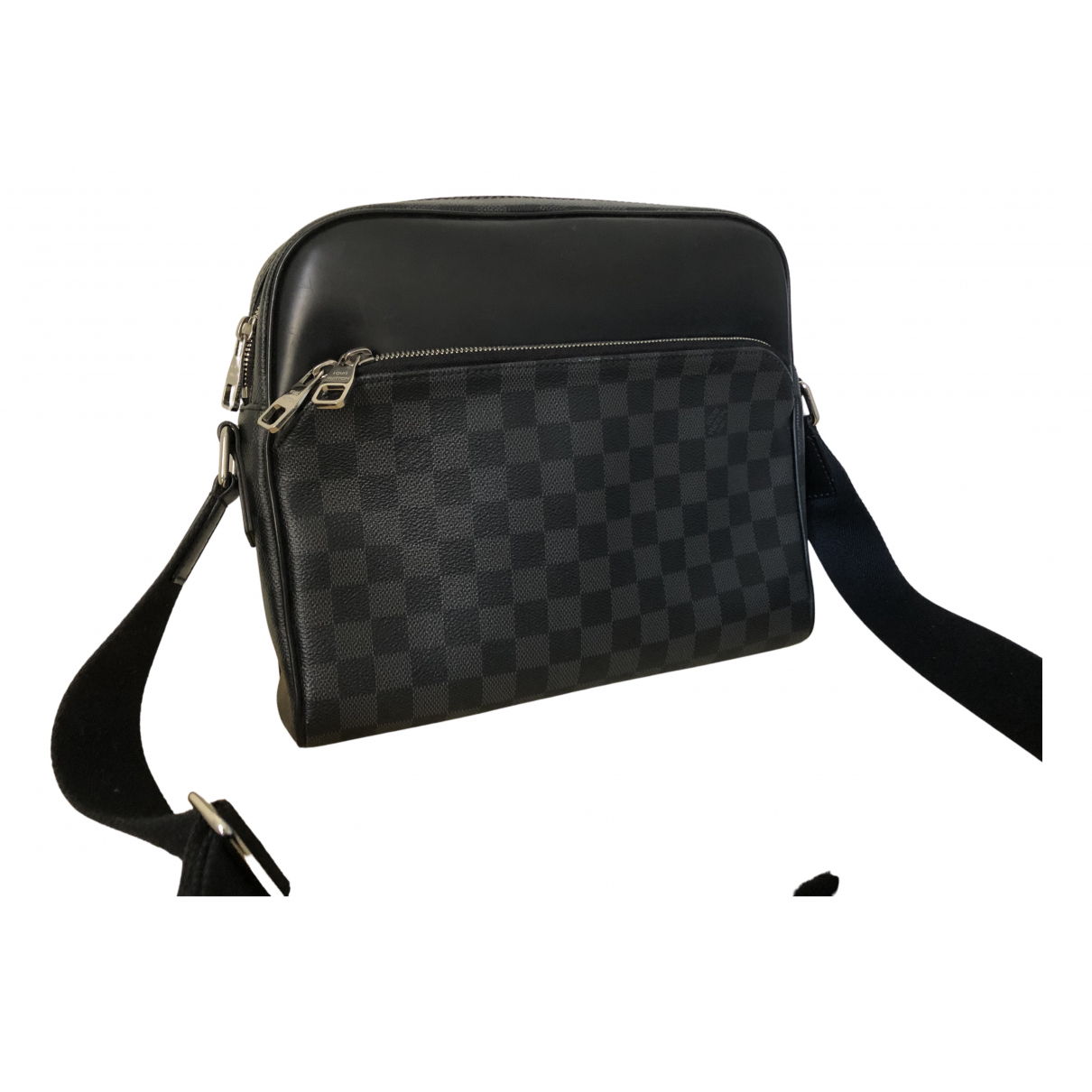 Louis Vuitton Daytona Reporter Anthracite Cloth bag for Men N