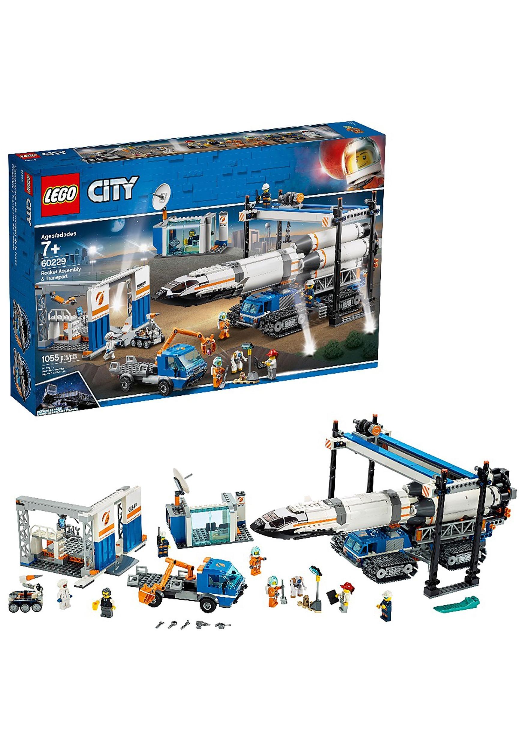 LEGO City Rocket Assembly & Transport Set