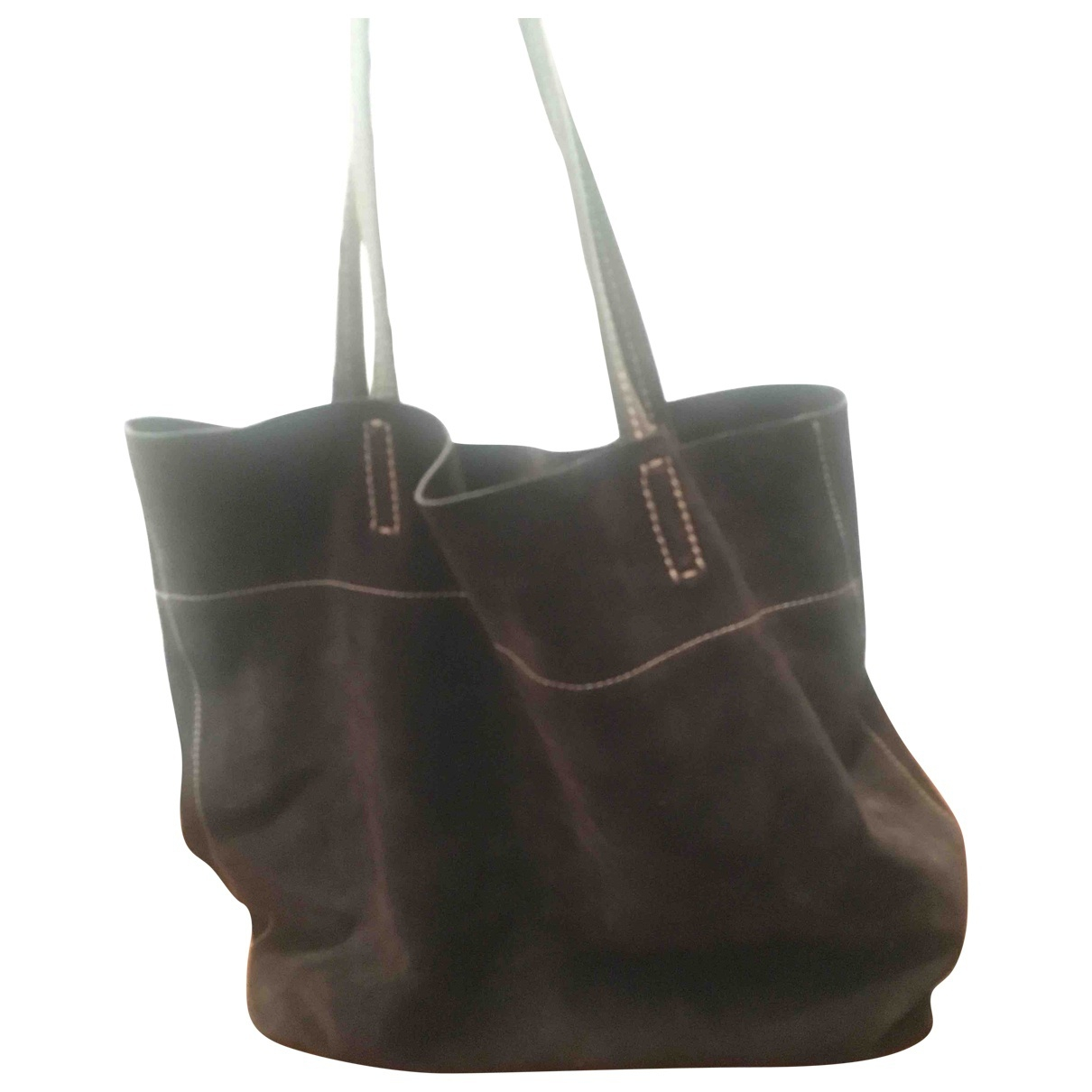 Carshoe \N Brown Suede handbag for Women \N