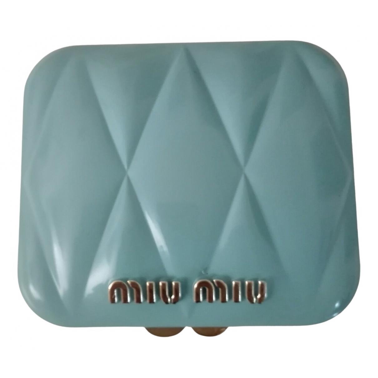Miu Miu - Objets & Deco   pour lifestyle - turquoise