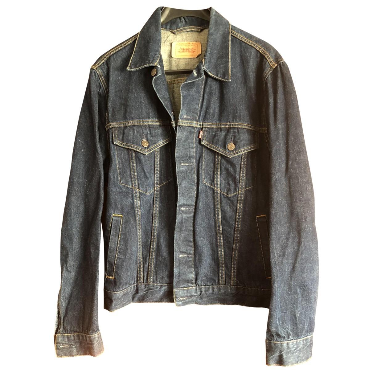 Levi's \N Blue Cotton jacket  for Men L International