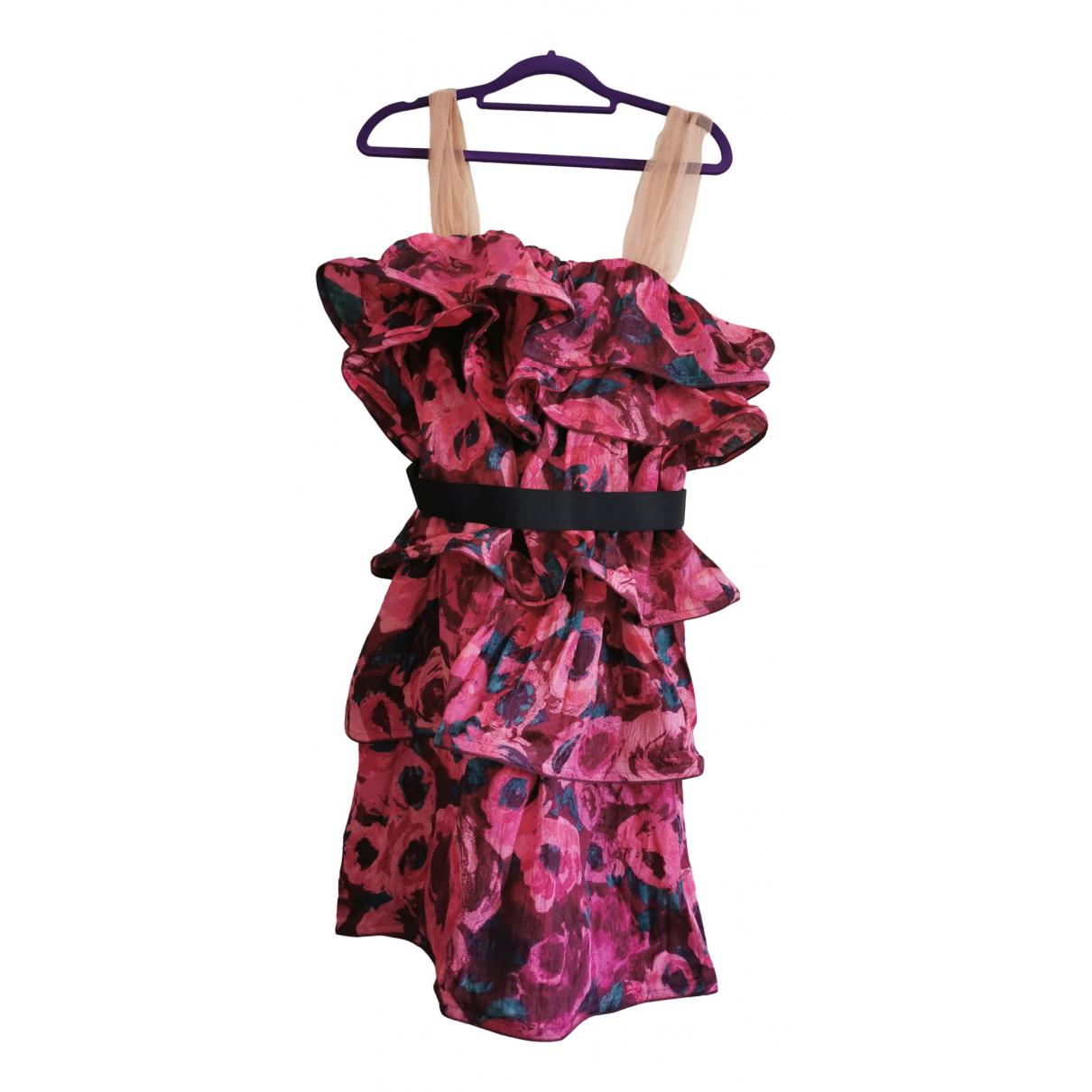 Lanvin For H&m \N Kleid in Seide