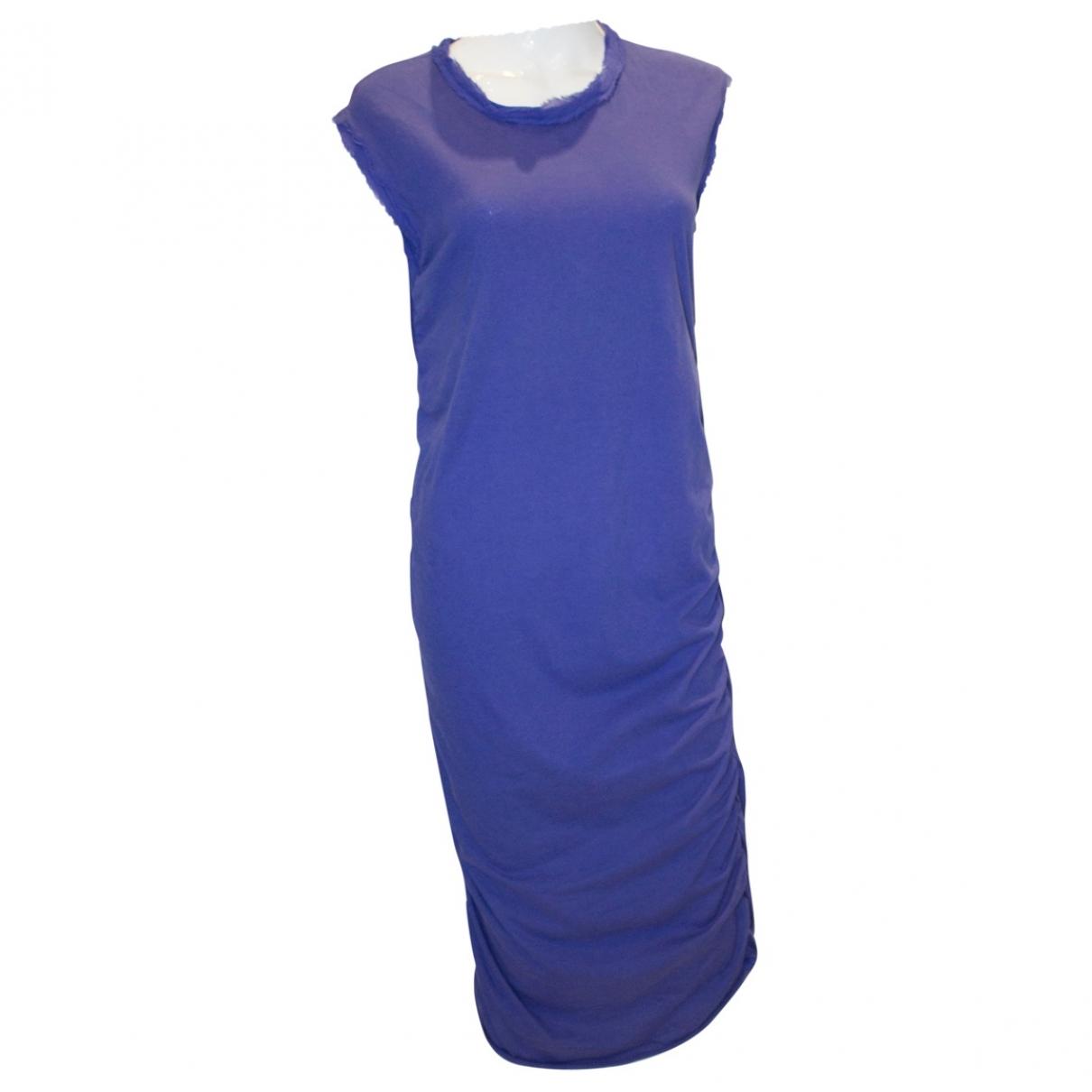 Lanvin - Robe   pour femme en soie - violet