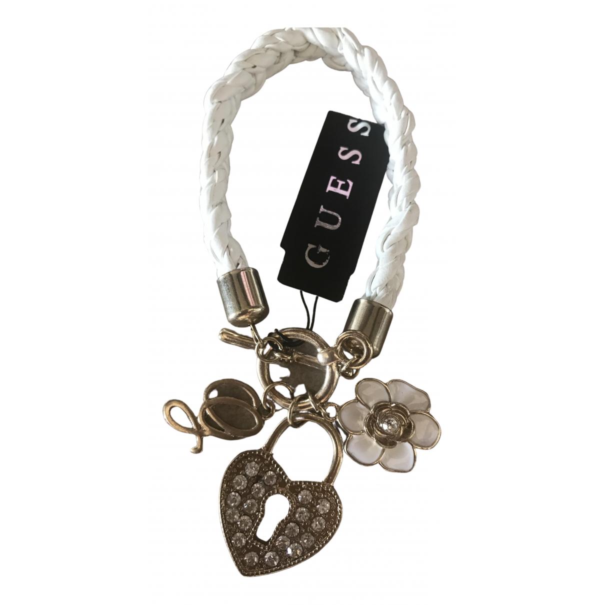 Guess N White Metal bracelet for Women N