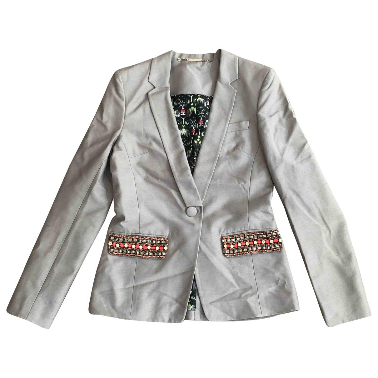 Matthew Williamson \N Beige Silk jacket for Women 8 UK