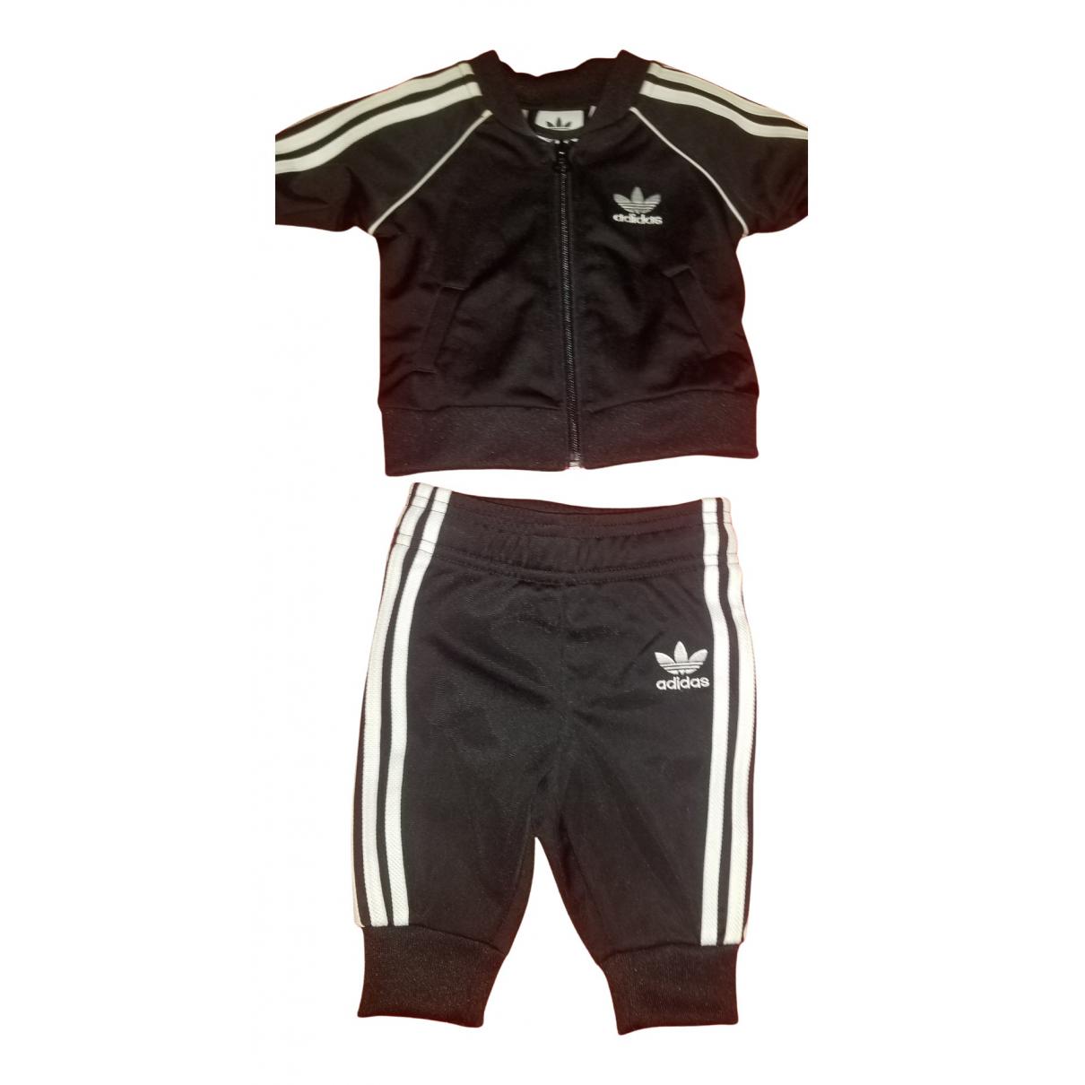 Adidas \N Sets in  Schwarz Baumwolle