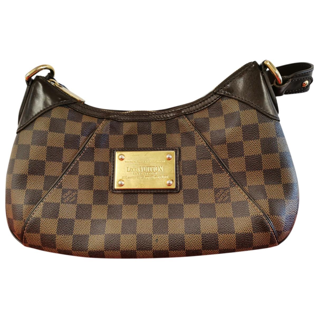 Louis Vuitton Thames Brown Cloth handbag for Women N