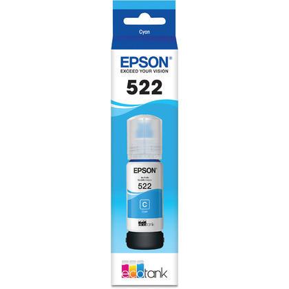 Epson T522 T522220-S bouteille d'encre originale EcoTank cyan