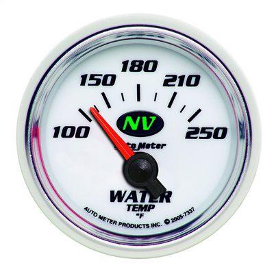 Auto Meter NV Electric Water Temperature Gauge - 7337