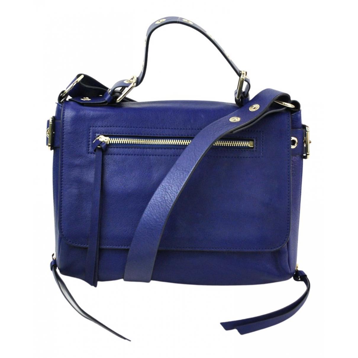 Red Valentino Garavani \N Blue Leather handbag for Women \N