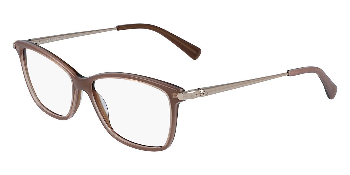Longchamp LO2621 272 Women's Glasses Brown Size 53 - Free Lenses - HSA/FSA Insurance - Blue Light Block Available