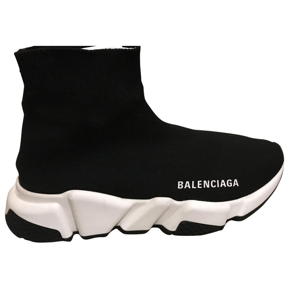 Balenciaga Speed Black Trainers for Women 3 UK
