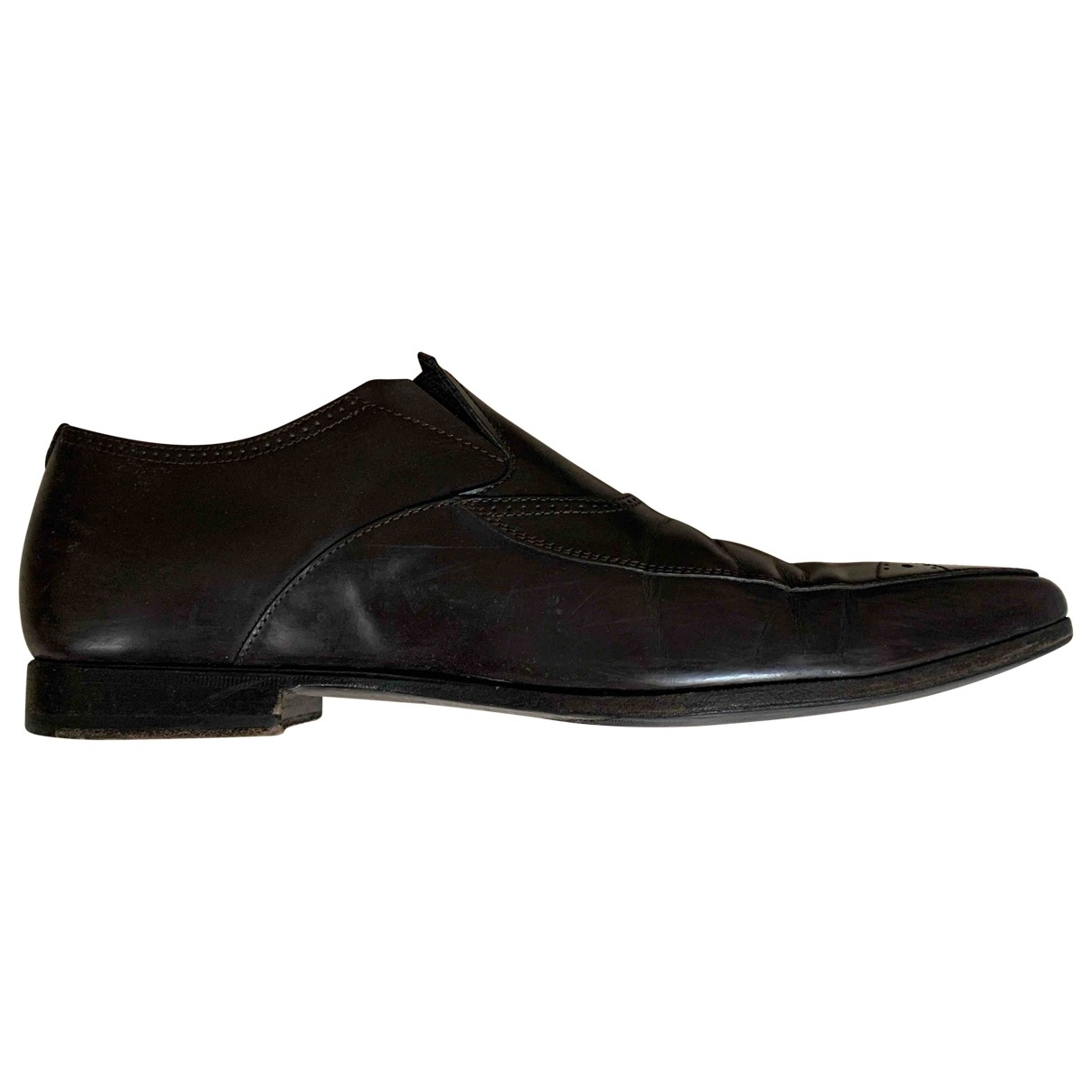 Yves Saint Laurent - Derbies   pour homme en cuir - marron
