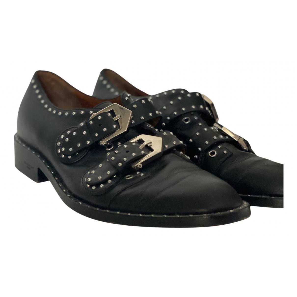 Givenchy - Derbies   pour femme en cuir - noir