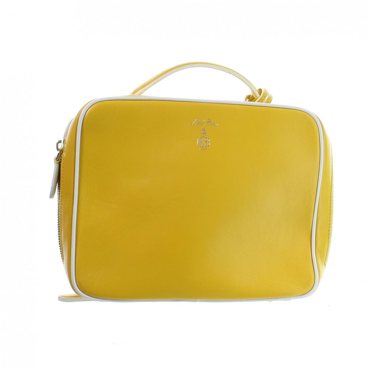 Mark Cross Laura Yellow Leather handbag for Women \N