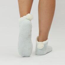 Calcetines con pompon