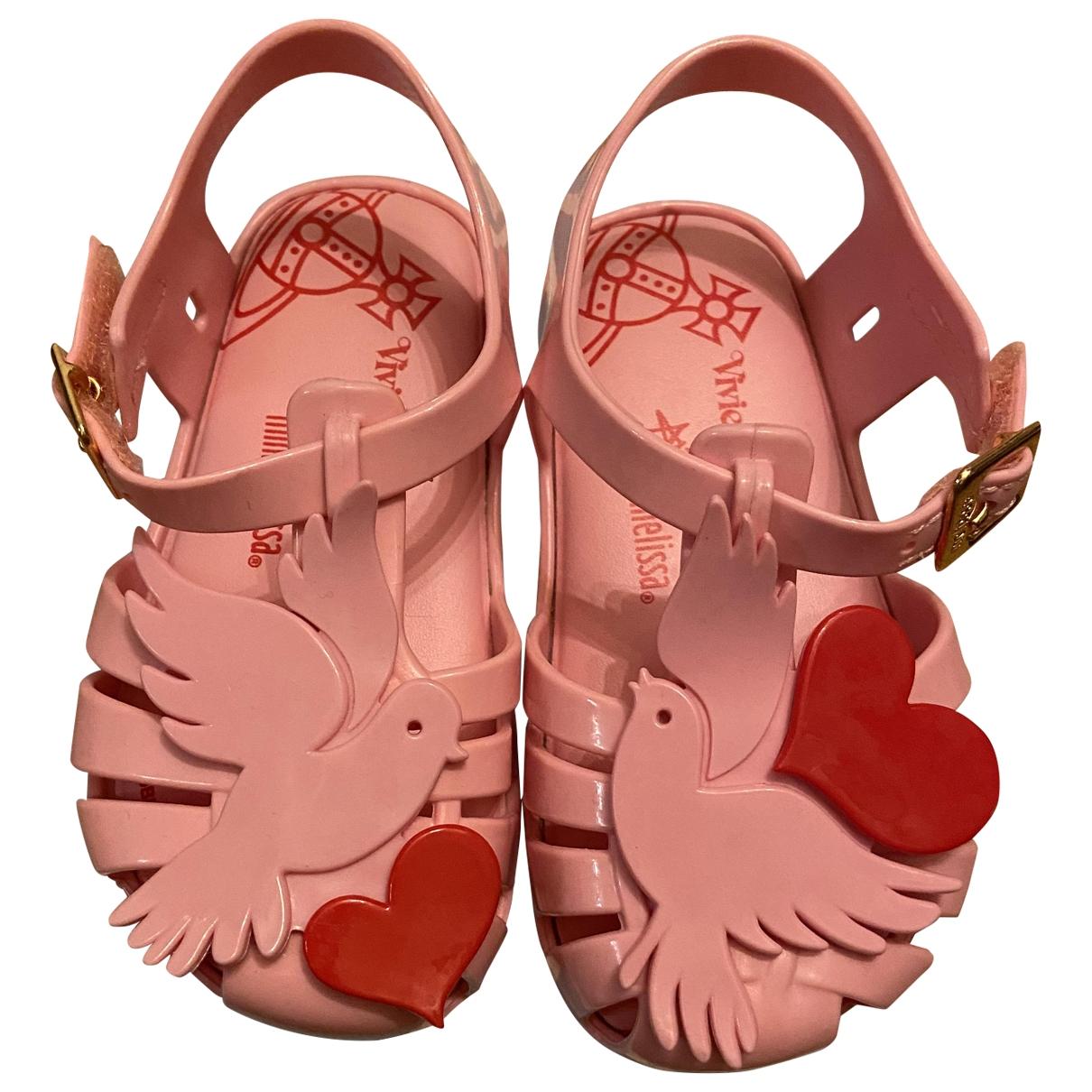 Vivienne Westwood - Sandales   pour enfant en caoutchouc - rose
