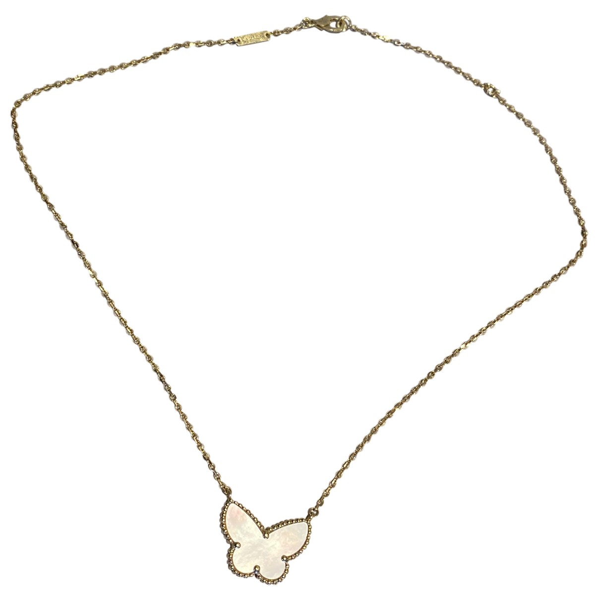 Van Cleef & Arpels - Collier   pour femme en or jaune - blanc