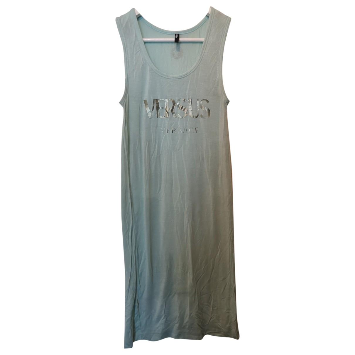Versus \N Kleid in  Gruen Viskose