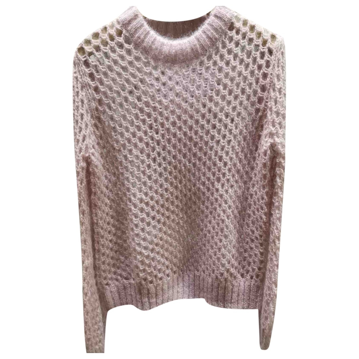 Zimmermann \N Pullover in  Rosa Wolle