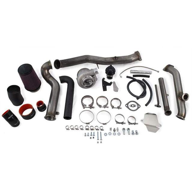 ETS 04-07 Subaru STI Vband Rotated Turbo Kit Rotated Turbo Kit Stock MAF Vband PT6062 BB Includes Exhaust Manifold