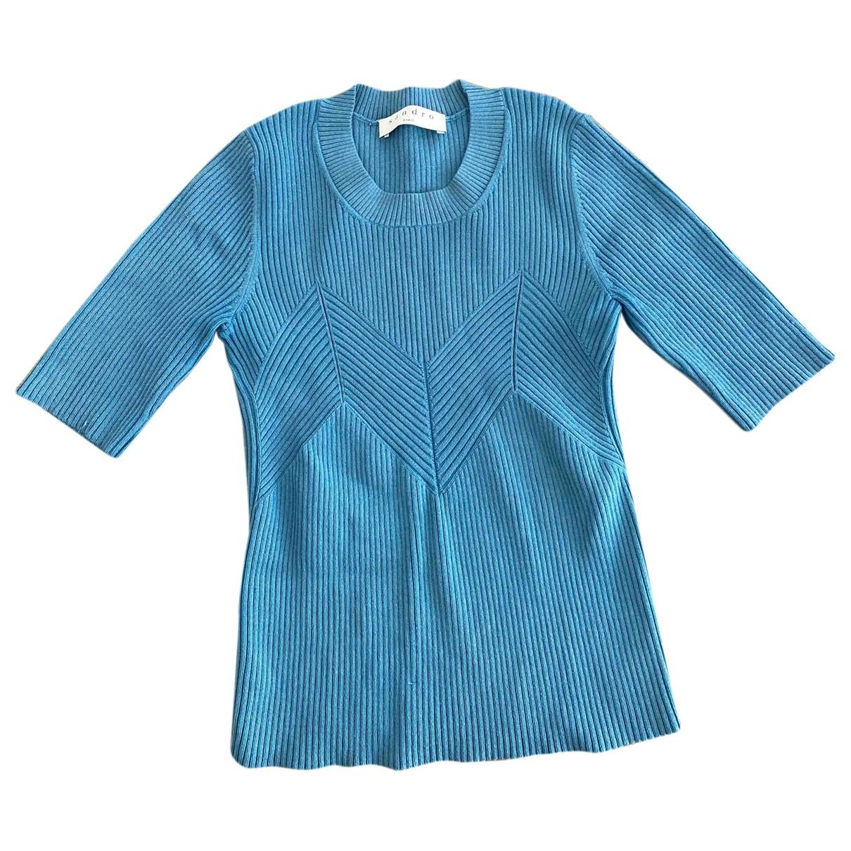 Sandro - Top   pour femme - bleu
