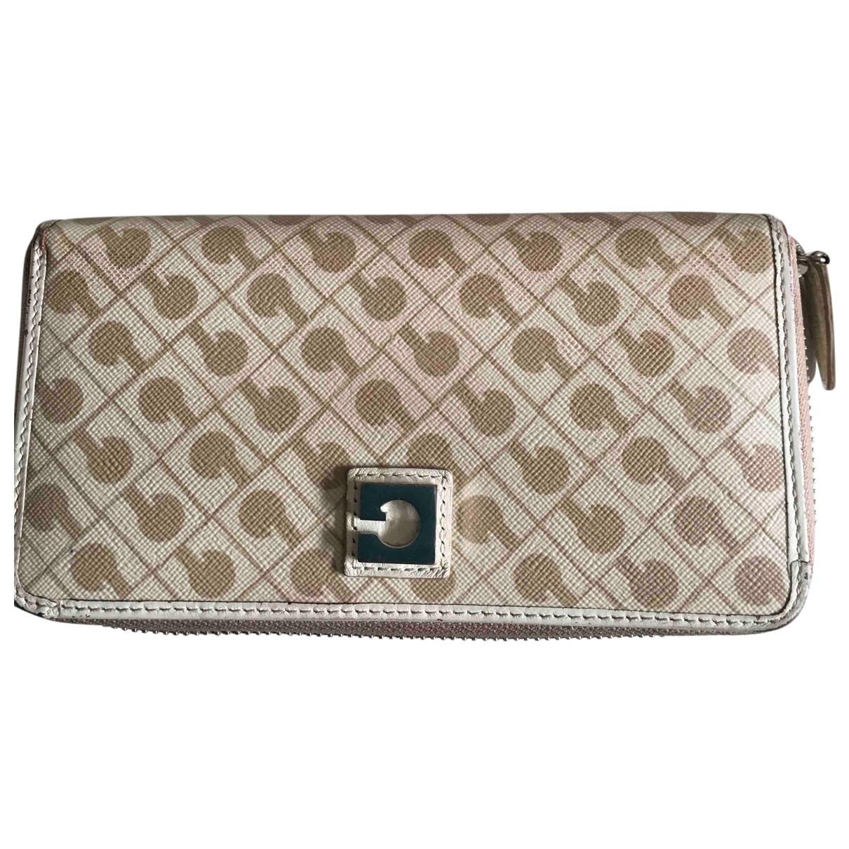 Gherardini N Beige Cloth wallet for Women N