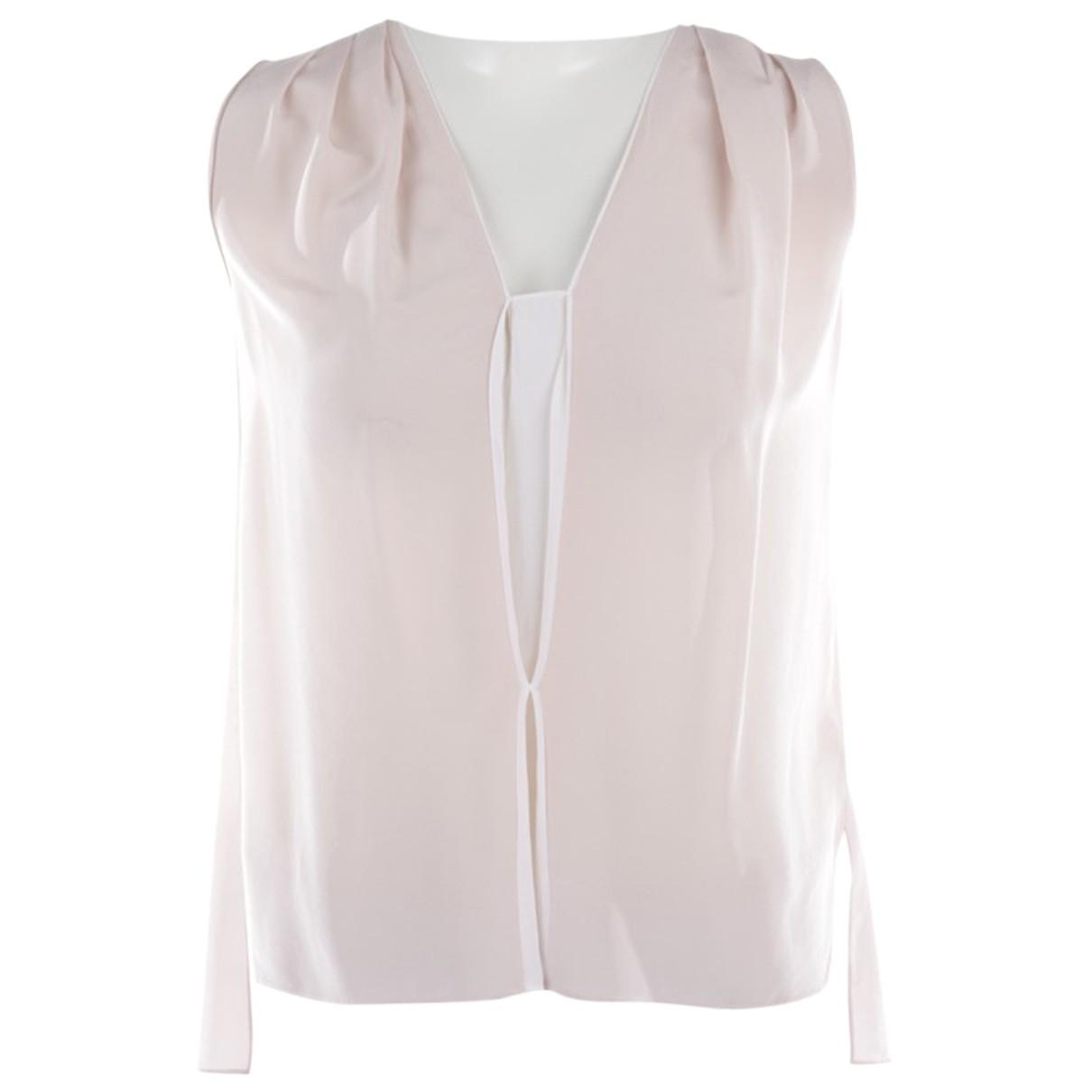 Schumacher - Top   pour femme en soie - rose