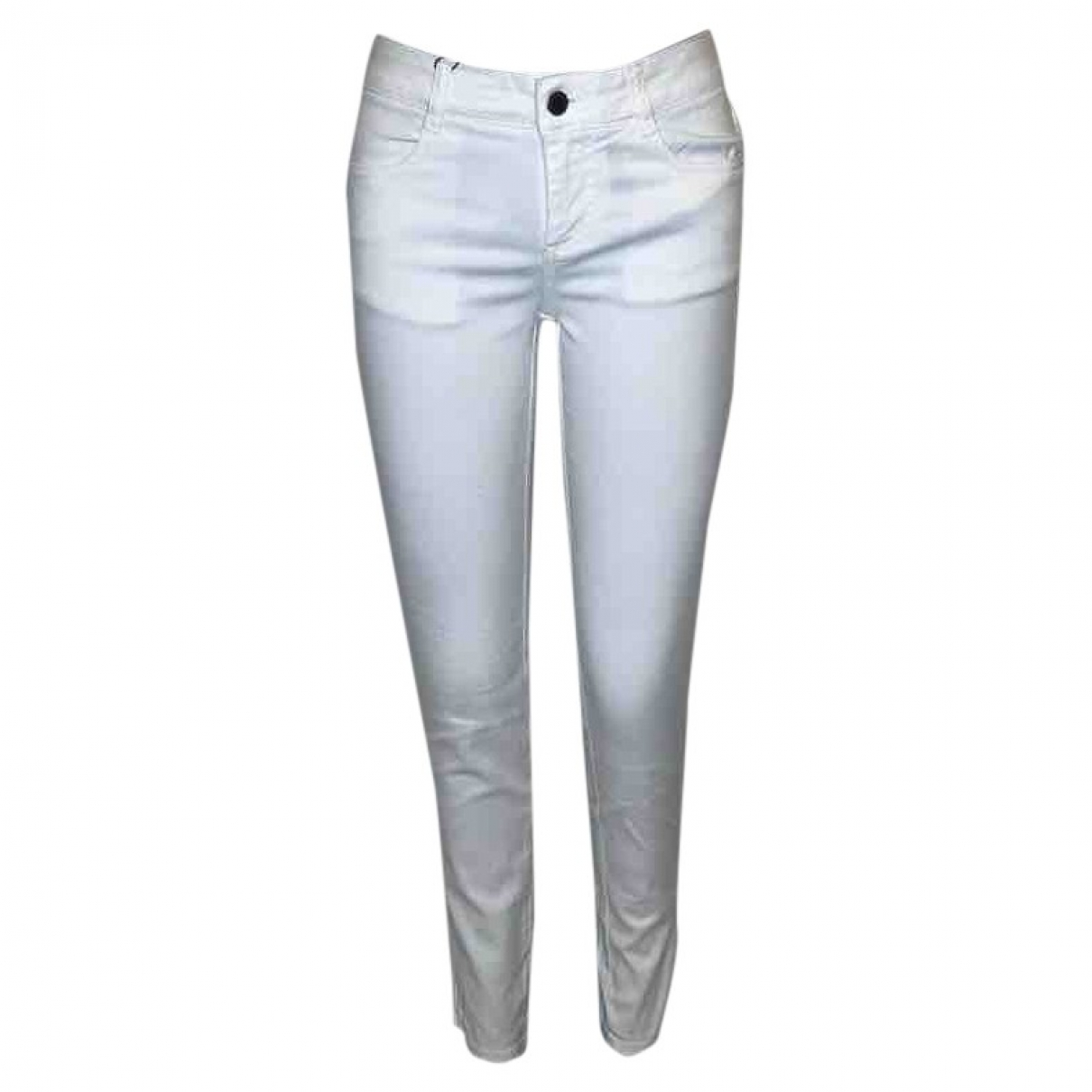 Stella Mccartney \N White Cotton Jeans for Women 26 US