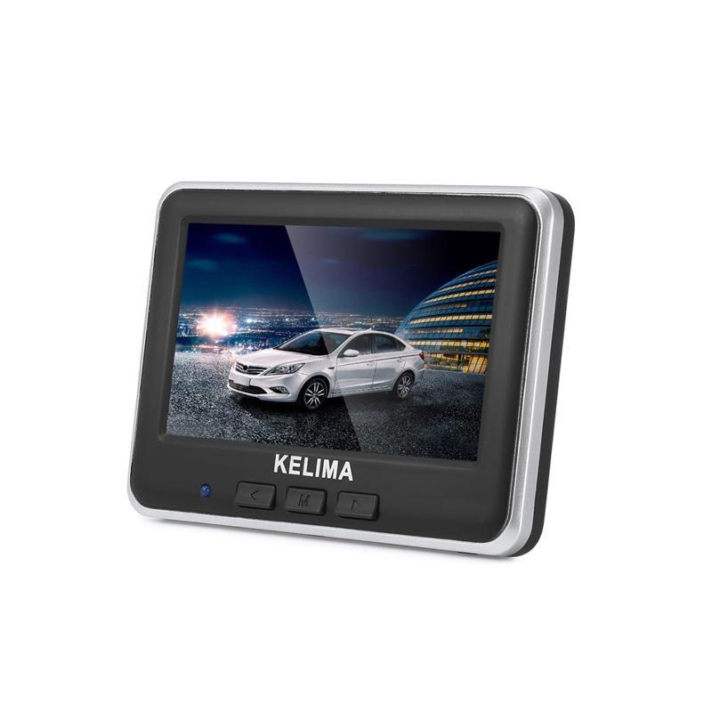 KELIMA 006 4.3 Inch Color LCD Wireless Car Rear View Camera