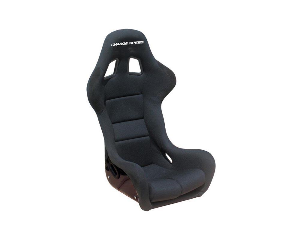 Charge Speed Racing Seat Spiritz SS Type Kevlar Black (Japanese Kevlar)