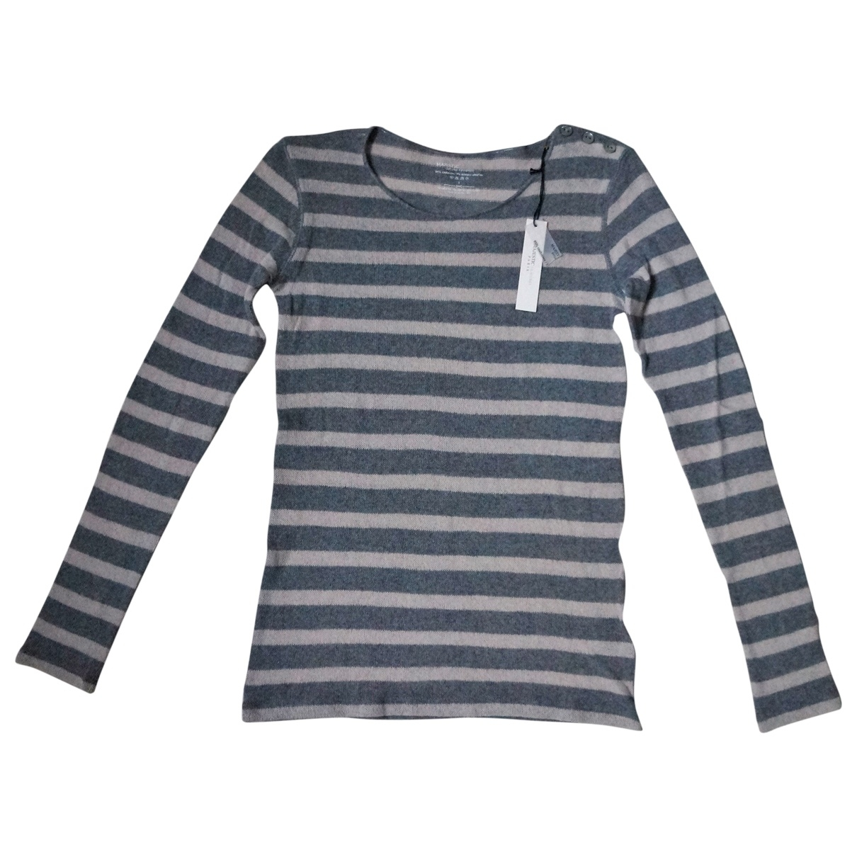 Majestic Filatures \N Grey Cashmere Knitwear for Women 1 0-5