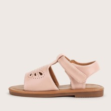 Toddler Girls Hollow Out Wide Fit Sandals