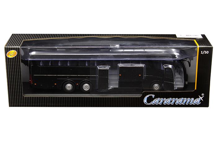 Scania Irizar Pb Bus Black 1/50 Diecast Model by Cararama
