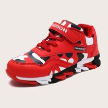 Jungen Sneakers mit Camo Muster