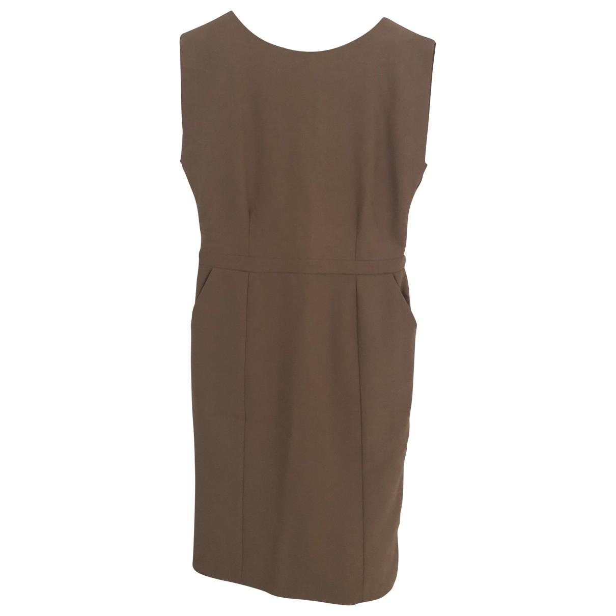 Hotel Particulier \N Kleid in  Beige Polyester
