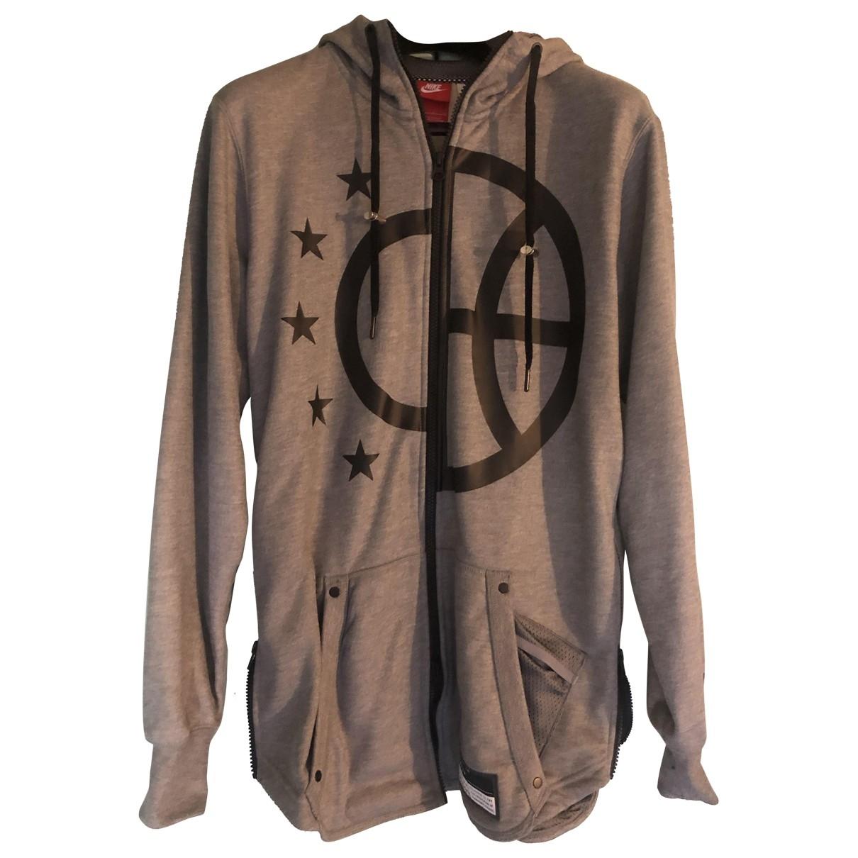 Nike \N Grey Cotton Knitwear & Sweatshirts for Men S International