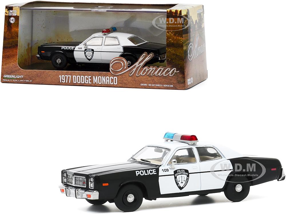 1977 Dodge Monaco White and Black