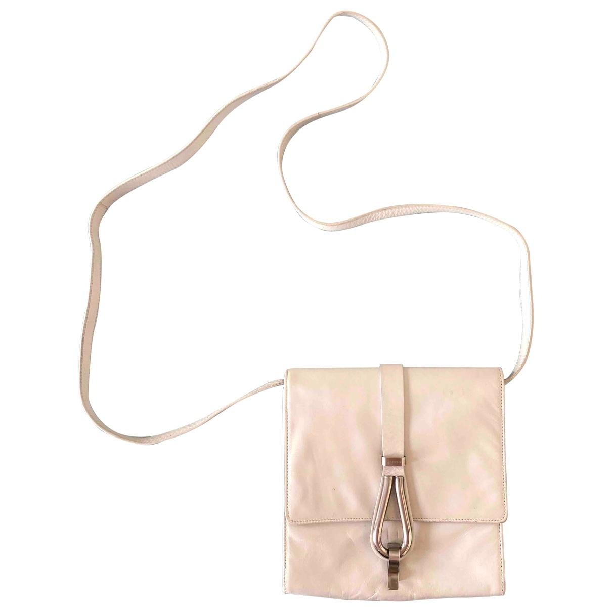 Helmut Lang - Sac a main   pour femme en cuir - blanc