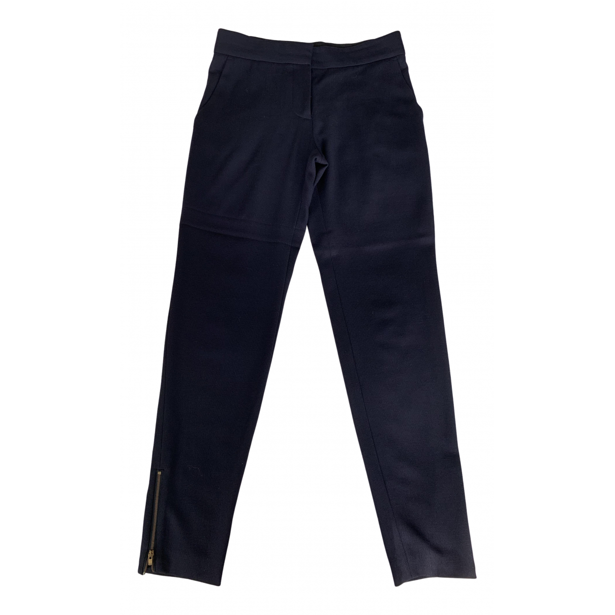 Stella Mccartney - Pantalon   pour femme en laine - marine