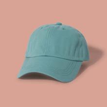 Maenner einfacher einfarbiger Baseball Hut