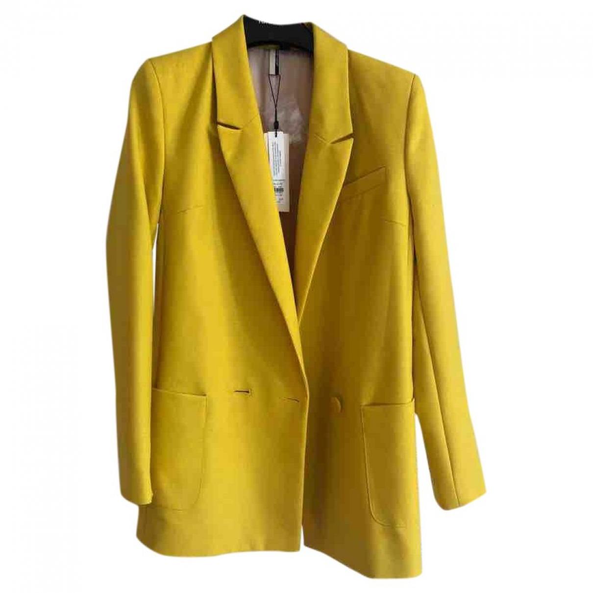 Topshop - Veste   pour femme - jaune