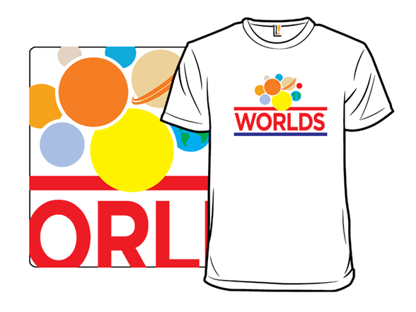 Wonder Worlds T Shirt