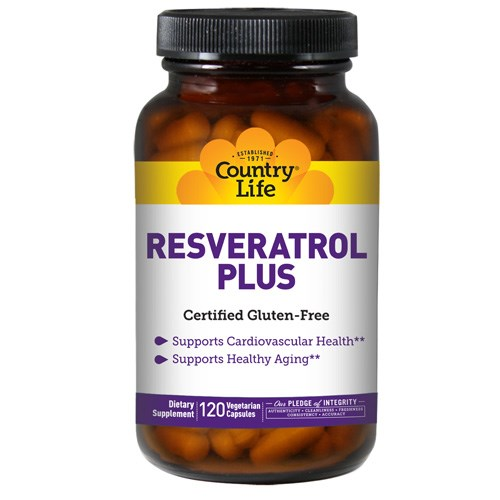 Resveratrol Plus 120 Caps by Country Life