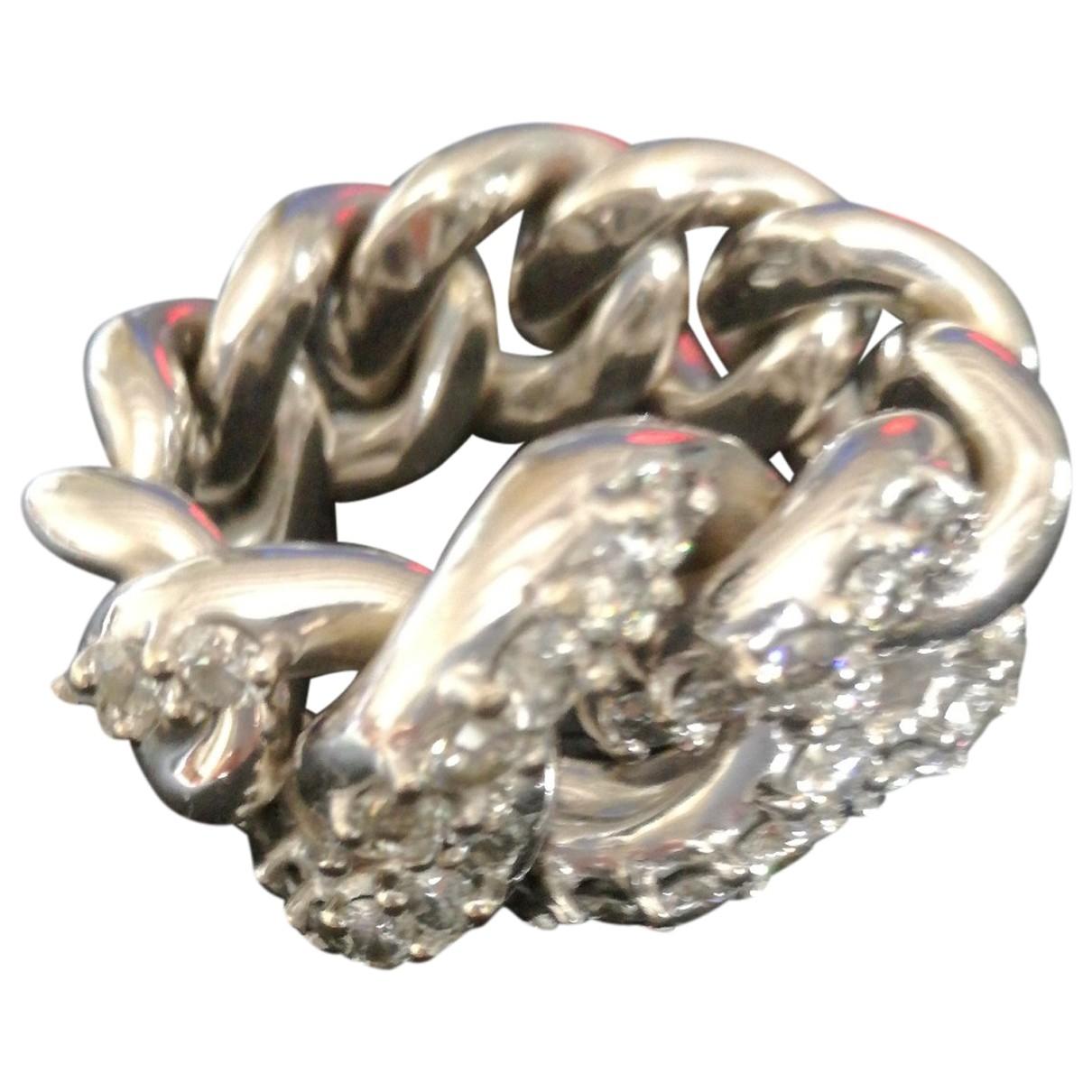Pomellato - Bague   pour femme en or blanc - argente