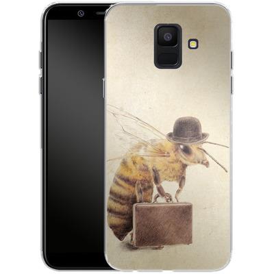 Samsung Galaxy A6 Silikon Handyhuelle - Worker Bee von Eric Fan